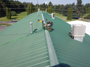 Metal Roof Repairs in Hot Springs and Kalispell MT