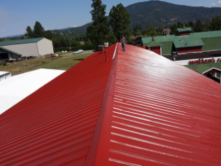 Metal Roofing in Hot Springs and Kalispell MT